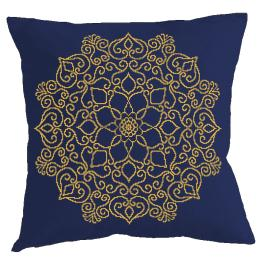 Cross Stitch pattern - Pillow - Oriental kaleidoscope