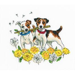 ZTC 301 Cross stitch kit - Running for dandelions