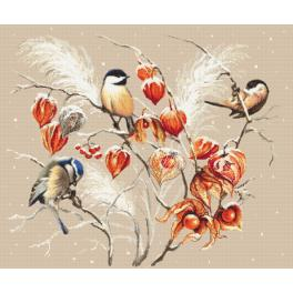 Cross stitch pattern - Bird paradise
