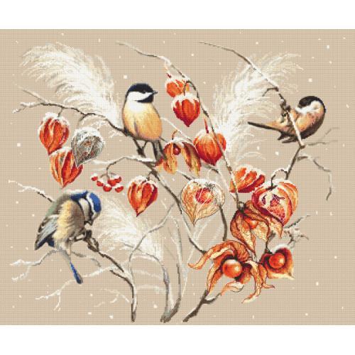Cross Stitch pattern - Bird paradise