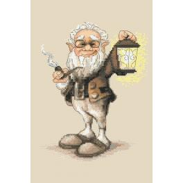 Cross stitch kit - Cheerful troll