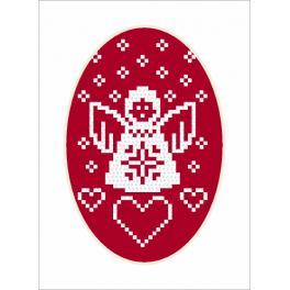 Pattern online - Card - Angel