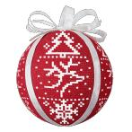 Cross stitch pattern - Scandinavian Christmas balls