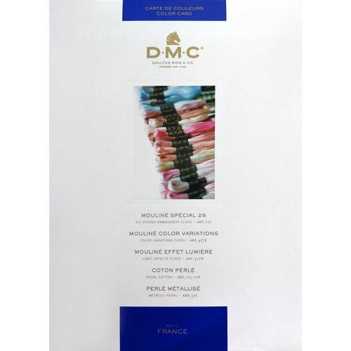 DMC book of colours