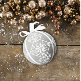 Pattern online - Fancy Christmas ball