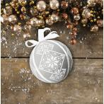 Cross stitch kit - Fancy Christmas ball