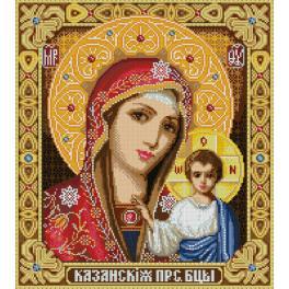Diamond painting kit - Our Lady of Kazan