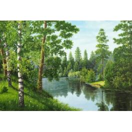 Diamond painting kit - Forest