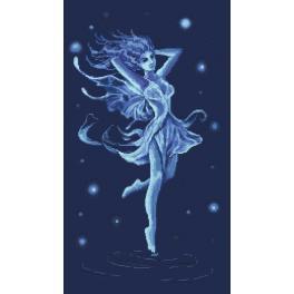Online pattern - Blue fairy