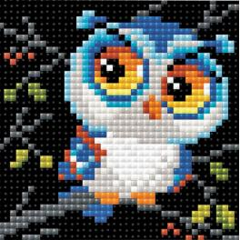 RIO AM0017 Diamond painting kit - Owl