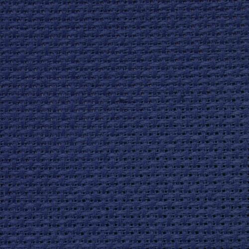 AIDA 64/10cm (16 ct) - sheet 40x50 cm navy blue