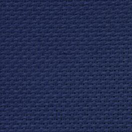 AIDA 64/10cm (16 ct) - sheet 50x100 cm navy blue