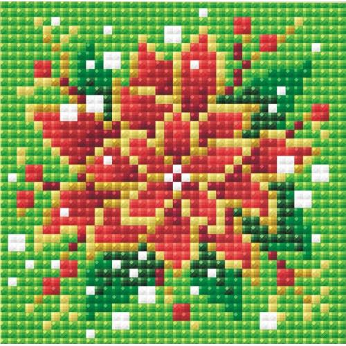 Diamond painting kit - Poinsettia