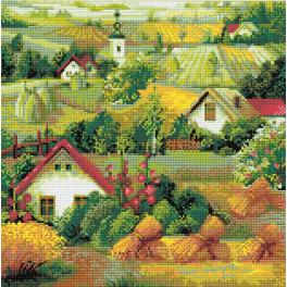 Diamond painting kit - Serbian landscape
