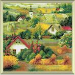 RIO AM0013 Diamond painting kit - Serbian landscape