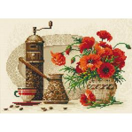RIO AM0012 Diamond painting kit - Coffee