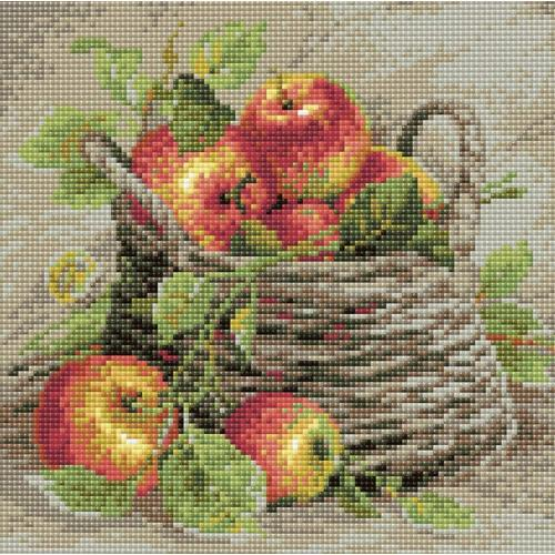 Diamond painting kit - Ripe apples