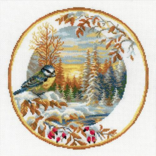 Cross stitch kit - Tit