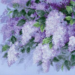 Kit with yarn - Lilacs after the rain