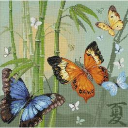 Cross stitch kit - Butterflies