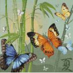 Cross stitch kit - Butterflies