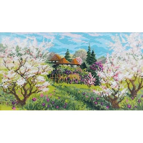 Kit with yarn - Spring orchard