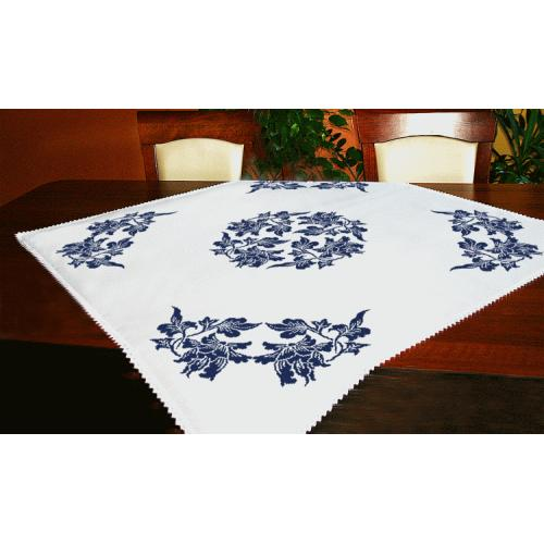 Cross stitch kit -Tablecloth - Chinese porcelain I