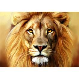 ZTDE 5845 Diamond painting kit - Lion