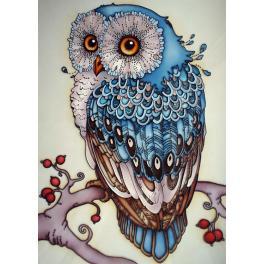 ZTDE 491 Diamond painting kit - Owl