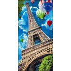 Diamond painting kit - Sky over Paris