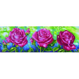 DD9.014 Diamond painting kit - Three roses