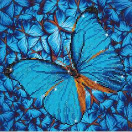 Diamond painting kit - Flutter by blue