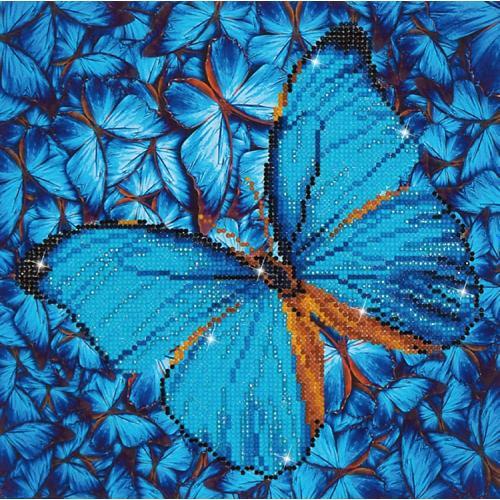 DD5.014 Diamond painting kit - Flutter by blue
