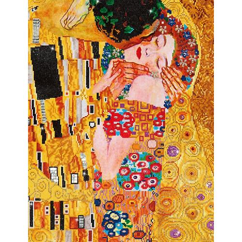 Diamond painting kit - Kiss by G.Klimt