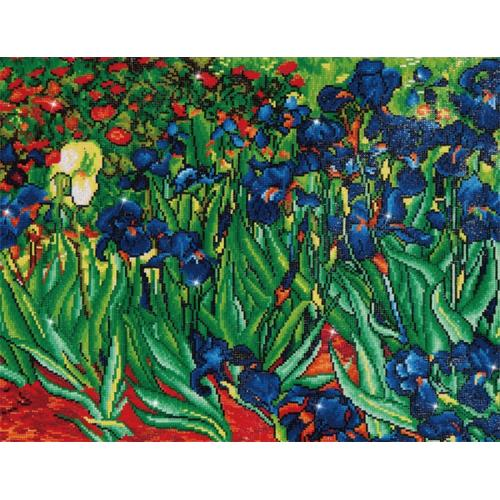 Diamond painting kit - Irises by V.van Gogh