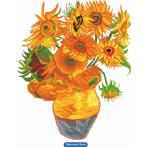 Diamond painting kit - Sunflowers by V.van Gogh