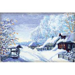 Cross stitch kit - Russian winter