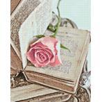 WD052 Diamond painting kit - Love novel