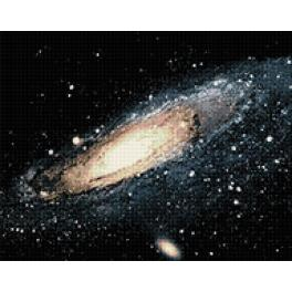 Diamond painting kit - Milky way