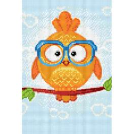 WD249 Diamond painting kit - Owl leo