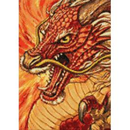 Diamond painting kit - Chinese dragon