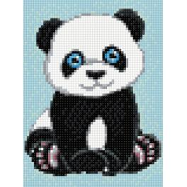 WD303 Diamond painting kit - Small panda