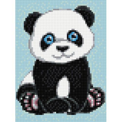 WD303 Diamond painting kit - Small panda