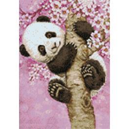 Diamond painting kit - Sweet panda
