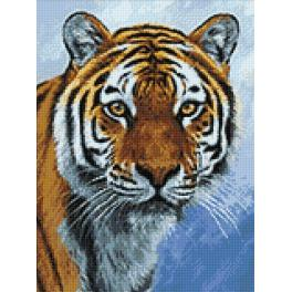 Diamond painting kit - Tiger