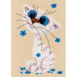 Cross stitch kit - Little cat