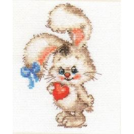 Cross stitch kit - For my bunny