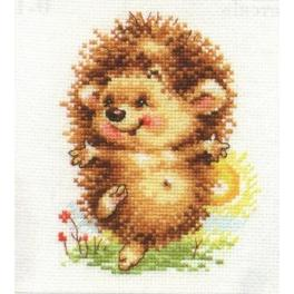 Cross stitch kit - Hello new day!