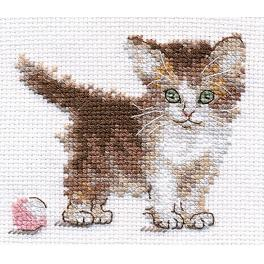 Cross stitch kit - Little kitten