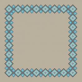 Graphic pattern - Ethnic tablecloth linen II